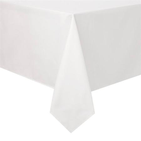 Mantel de papel texturado rectangular blanco