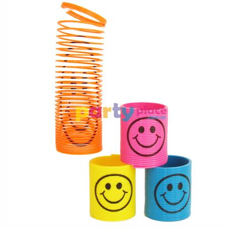 Mini resortes smile multilocolor 4u